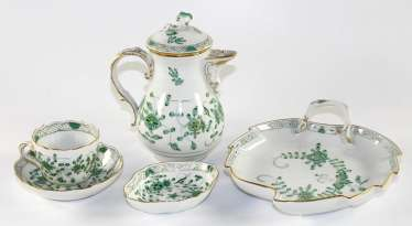 Meissen Indian green