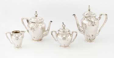 Coffee/Tea Set, Art Nouveau