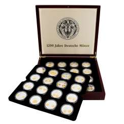 SILBERTRAUM medals 1200 years of the German Mint,