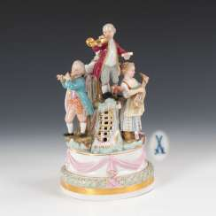 Musical children, MEISSEN.