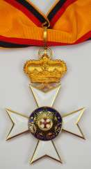 Waldeck: Cross of Merit, 1st class (with crown).