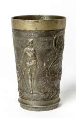 Tin Cup to the memory of the 200. Anniversary of the city of St. Petersburg, 16. May 1903