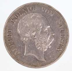 5 Mark Albert de Saxe 1894 E