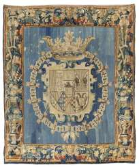 Tapestry with the Royal coat of arms