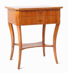 Biedermeier sewing table around 1840