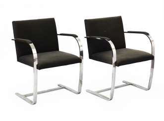 Pair of armchairs model