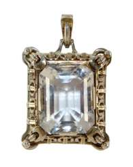 Art Deco magnificent pendant