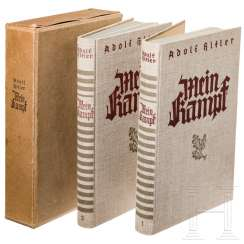 "Signed two-volume edition ""Mein Kampf"""