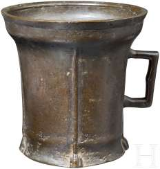 Large, Gothic mortar, South German, 2. Half of 15. Century