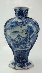 Delft: conical vase.
