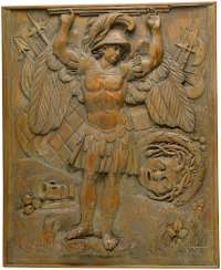 Two carved panels, France/Italy, 18. Century