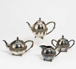Four-piece coffee & tea service