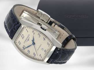 Wrist watch: high quality automatic watch, Longines