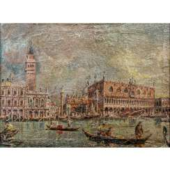 "D`ESTE, AMEDEO AMELIO (1912-2010) ""The Grand Canal"""