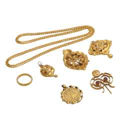 Jewelry mixed lot of 7 pieces,