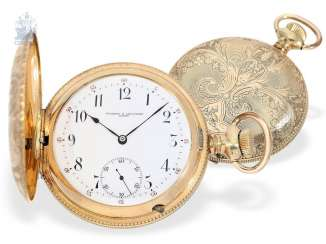 Pocket watch: very fine Vacheron & Constantin Anchor chronometer for the North American market, CA. 1900