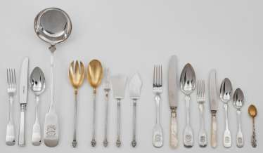 High-quality dining Cutlery for 12 persons
