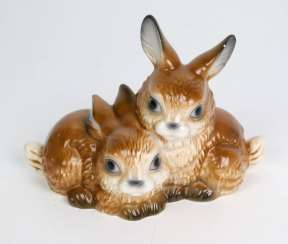 Goebel Rabbit Figure