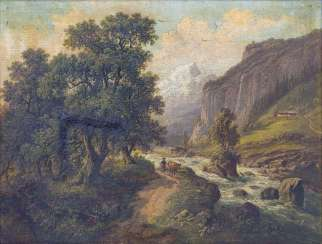 Landscape with river