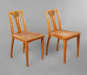 Pair Of Art Nouveau Chairs