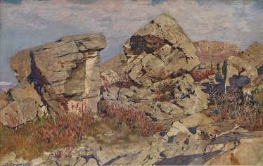 Hans Lietzmann - rock formation in the Marocche