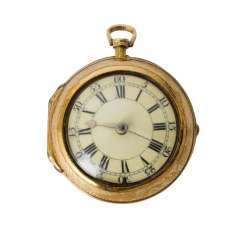 Pocket watch, approx. 18./19. Century,