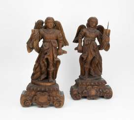 1 Pair Of Candlesticks Angel