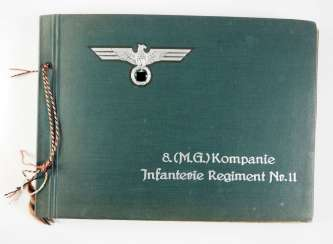 Wehrmacht: Photo album of the 8th (MG) / Infantry Regiment No. 11.