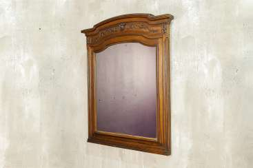 Antique carved mirror