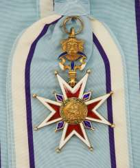 Bavaria: home of knights of the order of Saint George, Grand cross of the Grand prior ad honores HRH Prince Joseph Clemens of Bavaria.
