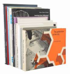 Collection of architecture books including: Lewis