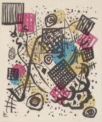 Kandinsky, Wassily 1866, Moscow - 1944 Neuilly. Small Worlds V. 1922
