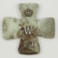 Prussia: Iron Cross, 1871, The Grand Cross Of The Core Blank.