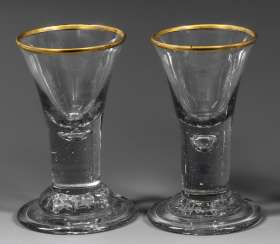 Pair Of Brandy Glasses