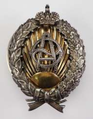 Russia: Tsarist Society for Orient Studies, Graduate Badge of the Practical Academy for Orient Studies.