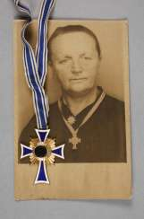 Nazi mother's cross in gold level
