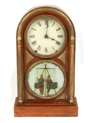 American table clock, around 1900