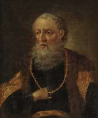 Netherlands, 17. Century. Bearded with the order of the Golden fleece