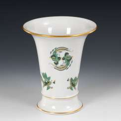 Crater vase with dragon painting, MEISSEN.