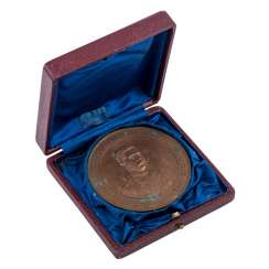 Austria - bronze medal in original case, Vienna rotunda 1894,