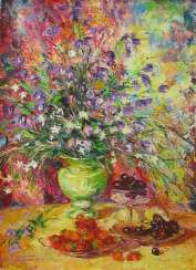Flowers of the forest, oil on canvas, 68 x 50 cm, 2009