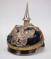 Baden: miniature Pickelhaube for officers of the Badisches Dragoner-Regiments 20, 21 and 22.