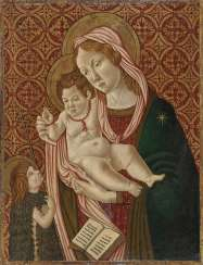Maria with the child and Saint John