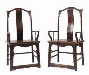 Pair of armchairs 20th century