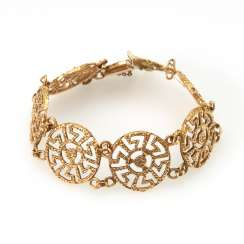 Ladies bracelet with meander decoration.