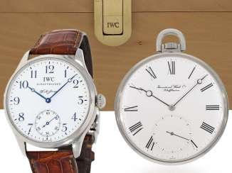 Watch: rare IWC Set: 1.large, limited edition men's watch from IWC,
