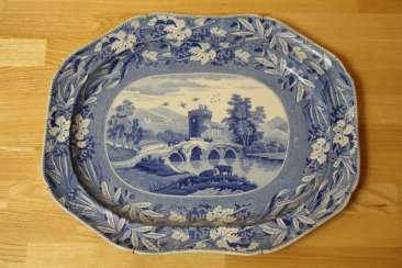Vintage dish from the series