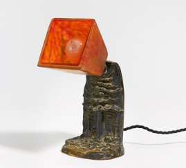 Small table lamp with fir