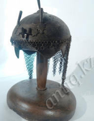 Helmet Persian warrior of the eighteenth century.