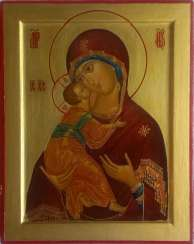 Icon Of Mother Of God Of Vladimir